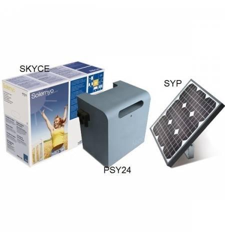 Sistema de alimentación solar NICE para puertas automáticas - Imagen 1